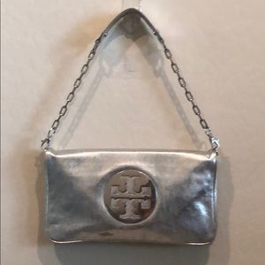 Tory Burch Metallic Shoulder Bag (AS IS)